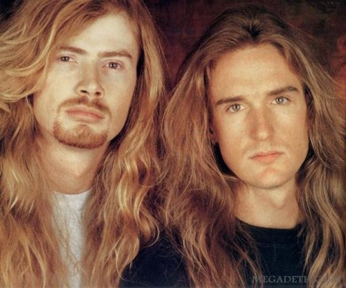 Dave Mustaine and David Ellefson