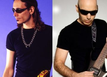 Steve Vai and Joe Satriani