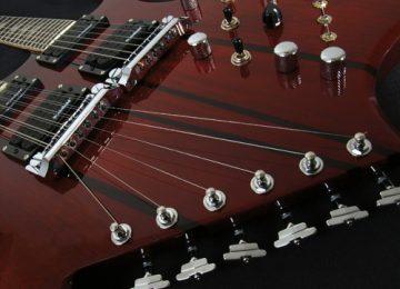 BC Rich Bich Double Neck Guitar