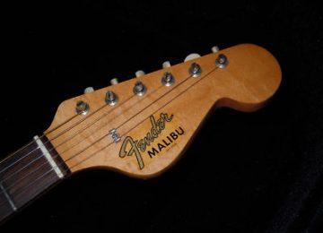 Fender Malibu Headstock