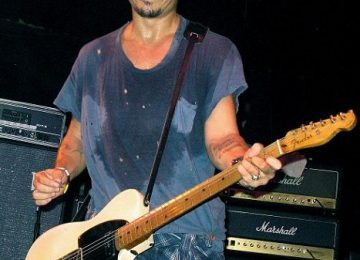 Johnny Depp On Guitar