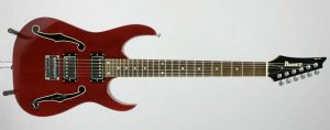 "Paul Gilbert's Ibanez Used on Racer X's ""Getting Heavier"""