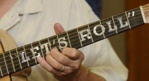 9-11 Tribute Guitar