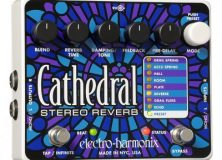 The EXH Cathedral Stereo Reverb Pedal