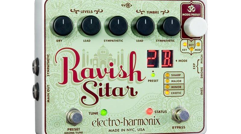 EHX Ravish Sitar Pedal