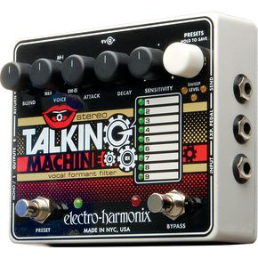 Winner of The EHX Stereo Talking Machine
