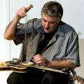 Fred Frith Plays Guitar With Chains