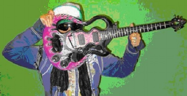 George Clinton Stolen Guitar