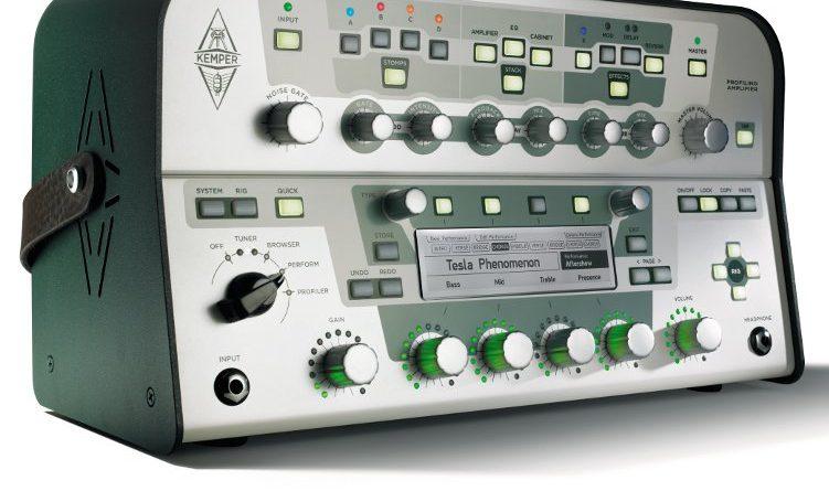 Kemper Profiling Amplifier Side View