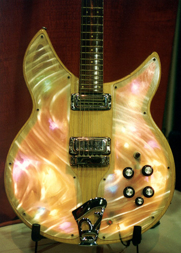 Rickenbacker Model 331 Lightshow Guitar