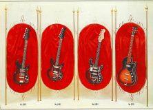 1960s Ibanez Guitar Brochure