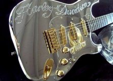 Fender Custom Shop - Harley Davidson Diamond Dealer Guitar