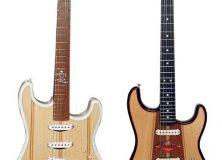 Custom Fender Surf Strat - NAMM 2003 - Dennis Galuszka