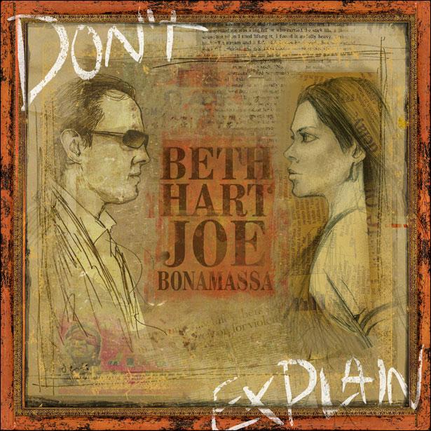 Beth Hart Joe Bonamassa - Don't Explain Album Cover
