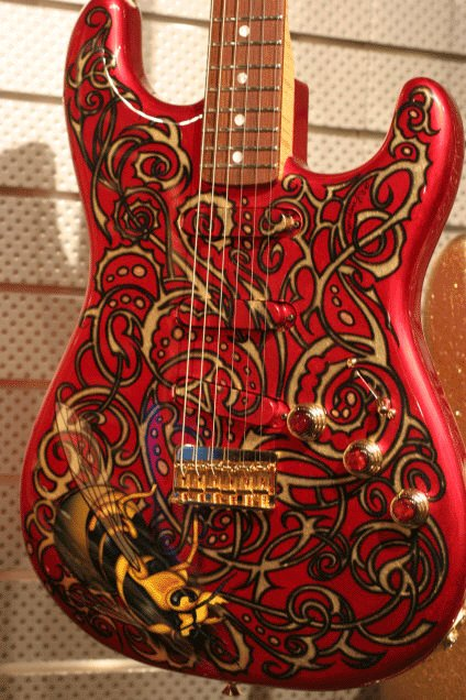 Custom Painted Stratocaster Body