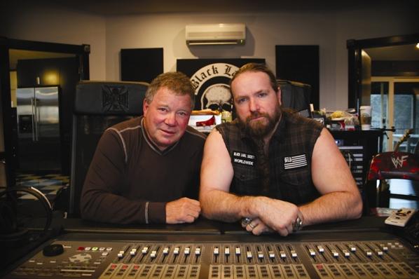 William Shatner and Zakk Wylde