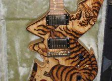 Tiger Body Guitar
