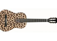 Leopard Nylon String Guitar