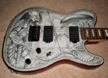 Alien Vs. Predator Guitar