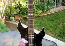 Elvira Warlock Guitar
