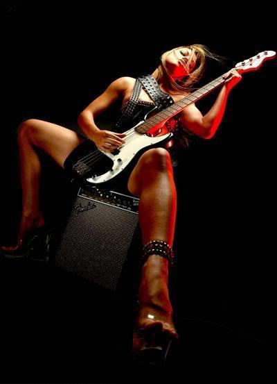 image Sex playing guitar hero