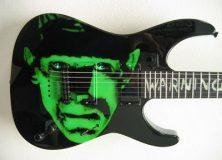 Hammett's Frankenstein guitar
