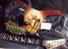 Mike Learn's Godzilla Guitar