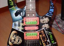 Richie Kotzen's custom Ibanez