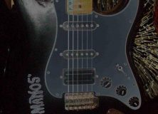 """Manos"" The Hands of Fate Guitar"