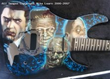Mike Learn's Monsters Guitar