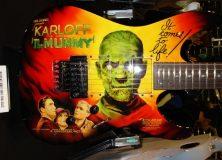 Boris Karloff's Mummy Guitar