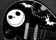 Nightmare Before Christmas guitar body