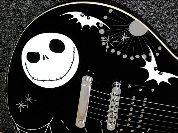 Nightmare Before Christmas guitar body