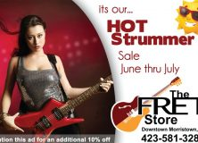 The Fret Store - Hot Strummer Sale