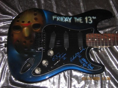 Friday the 13th Guitar