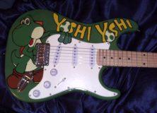 Yoshi Guitar - Front