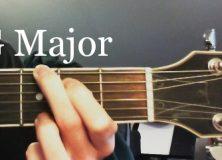 Guitar Chord Diagram G Major
