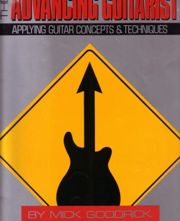 Advancing Guitarist book