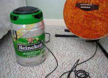 Heineken Keg Guitar Amp