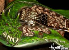 Hembry Draggin Guitar Body