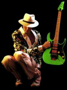 Steve Vai Loch Ness Green Guitar