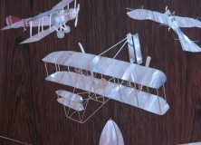 History Of Flight Guitar Inlays