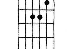 A Minor Chord Diagram