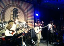 """Taylor snapped this image of """"Silent Comedy"""" who tore things up."""