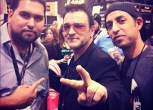 Bono was there. Heavyweight DJs took this one.