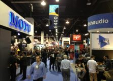 A good NAMM overview image caught by Dan Bullock