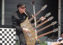 Rick Nielsen's Hamer 5 Neck Guitar