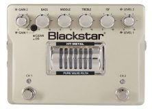 New from Blackstar: The HT-Metal Pedal
