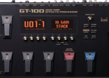 Boss GT-100: One Pedal To Rule Them All