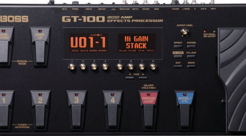 Boss GT-100 Multi Effects Pedal